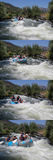 Course de l'eau de Whte Images stock