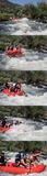 Course de l'eau de Whte Photo stock