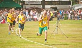 course de 800 mètres chez Forres Photos libres de droits