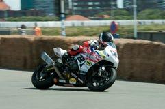 Course de moto d'IRRC à Ostende Belgique Images libres de droits