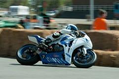 Course de moto d'IRRC à Ostende Belgique Photographie stock