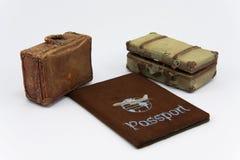 course de passeport Images stock