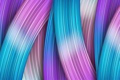 course de pinceau du résumé 3d moderne coloré de fond illustration de vecteur