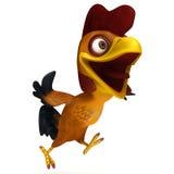 Course de poulet Image libre de droits