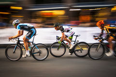 Course de recyclage de Gastown Grand prix 2013 Photo libre de droits