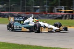 Course de série d'Indycar image libre de droits