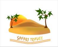 Course de safari Illustration Stock