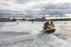 Course de scooter de mer Photo libre de droits
