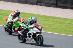 Course 006 de Superbike Photos libres de droits