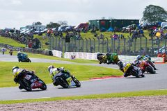 Course 013 de Superbike Photographie stock