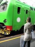 Course de train de l'Italie   Image libre de droits