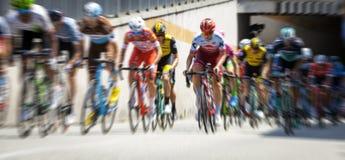 Course de vélo de l'Italie de ` des chèques postaux d Image de couleur Photos stock