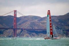 Course de voilier de tasse des Amériques Photographie stock