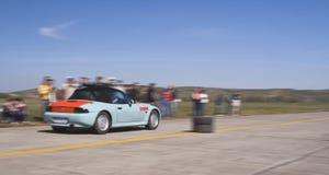 Course de voiture photographie stock