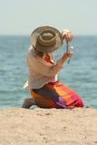Course des vacances Photo stock