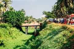 Course en Inde Photos libres de droits