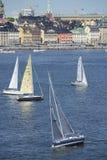 Course en mer 2015 de Ã… F Photo libre de droits
