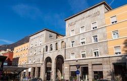 Course of freedom in Bolzano. South Tyrol, Italy Royalty Free Stock Photos