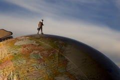 Course globale Images libres de droits