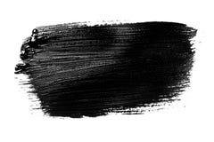 Course grunge abstraite de brosse d'isolement Image libre de droits