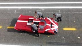 Course historique de voiture de sport Photographie stock libre de droits