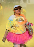 Course Las Vegas de couleur Image libre de droits