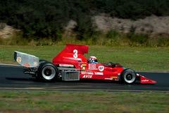 Course Lola automobile T330 de la formule 5000 Images libres de droits