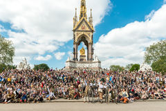 Course Londres 2016 de tweed Image libre de droits