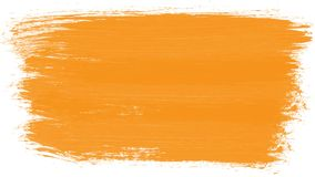 Course multicolore de brosse dessinant le cadre grunge
