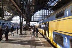Course par chemin de fer Photo libre de droits