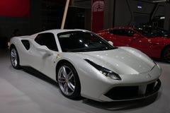Course superbe de Ferrari Image libre de droits