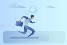 Course Team Leader Competition Concept d'homme d'affaires Photographie stock