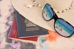 Course tropicale de plage image stock