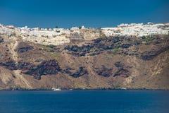 Course vers la Grèce Beau Santorini Photos libres de droits