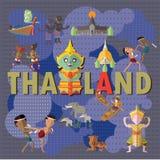 Course vers la Thaïlande Photographie stock