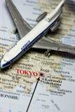 Course vers le Japon Images libres de droits