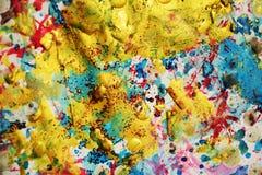 Courses abstraites de fond et de brosse, tonalités, taches Images libres de droits