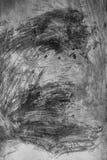 Courses aléatoires de peinture sur le mur Photo stock