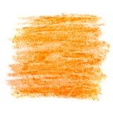 Courses colorées de brosse de cire Photographie stock