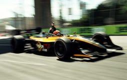 Courses d'automobiles Image libre de droits