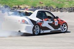 courses d'automobiles Photo stock
