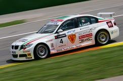 Courses d'automobiles (Alessandro ZANARDI, FIA WTCC) Image stock