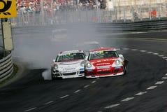 Courses d'automobiles, CUVETTE de PORSCHE CARRERA Photographie stock libre de droits