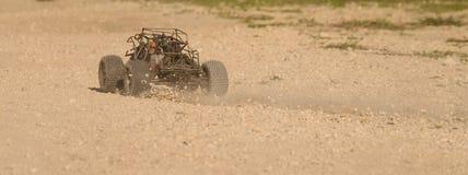 Courses d'automobiles de RC Images stock