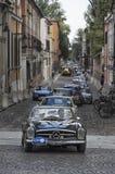 Courses d'automobiles de vintage le Nuvolari Grand prix Photos libres de droits