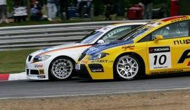 Courses d'automobiles (la FIA WTCC) Images libres de droits