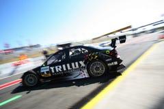 Courses d'automobiles (Ralf Schumacher, DTMrace) Photographie stock libre de droits