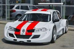 Courses d'automobiles Renault Megane Trophy photos libres de droits
