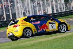 Courses d'automobiles (SIÈGE Leon TDI, FIA WTCC) Images stock