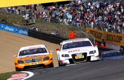 Courses d'automobiles (Tom KRISTENSEN, DTMrace) Photographie stock libre de droits
